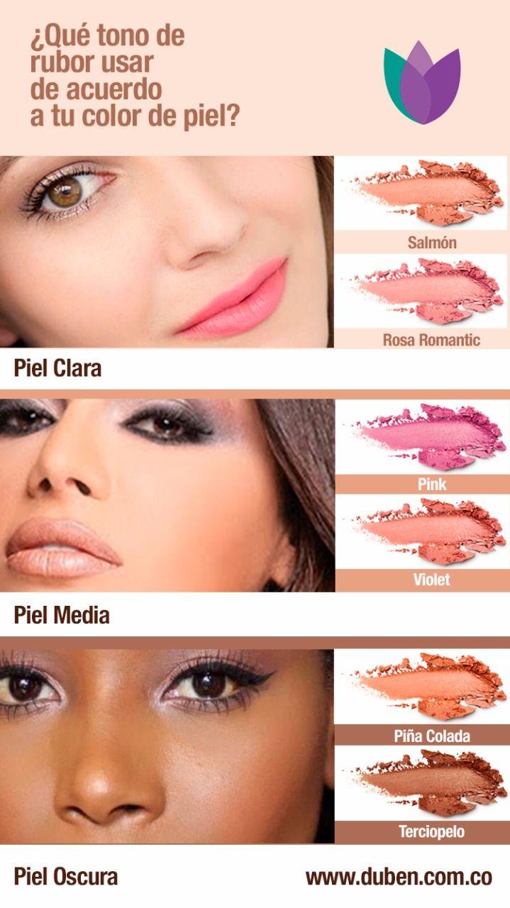 Qué Tono De Rubor Usar De Acuerdo A Tu Color De Piel Maquillaje Rubores D Consejos De Maquillaje Estilos De Maquillaje De Ojos Pasos De Maquillaje De Ojos