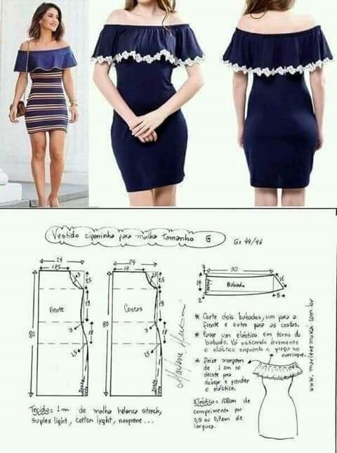 Resultado de imagen para moldes de blusas cruzada na frente com ...