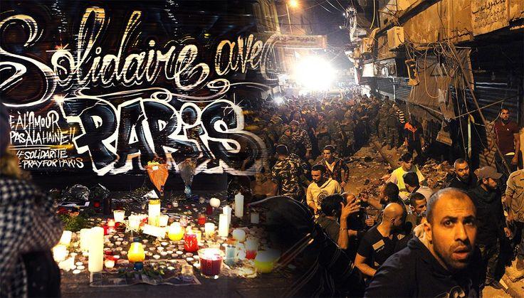 Media coverage of Nov. 13 Beirut bombing vs Nov 14 Paris bombing