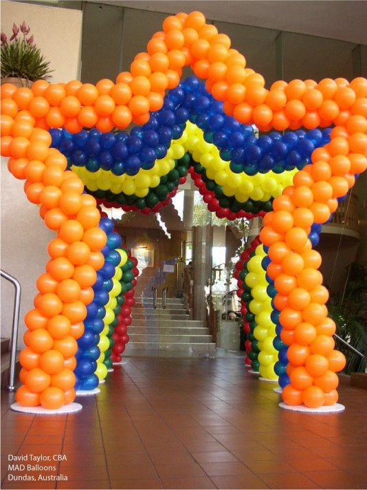 198 best images about balloon arch on pinterest balloon for Arch balloon decoration