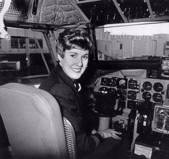 6/12 1973 Emily Howell is hired by Frontier Airlines - becomes the first woman pilot for a scheduled passenger airline in the U.S.