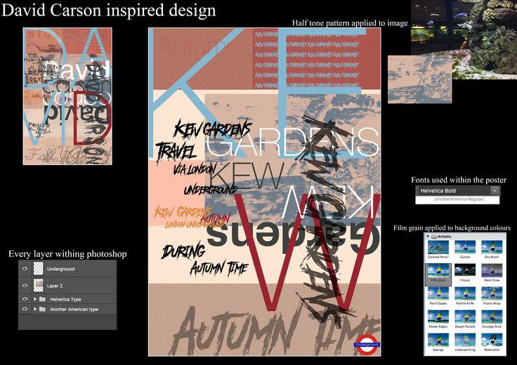 A1 Graphics, Breakdown of David Carson