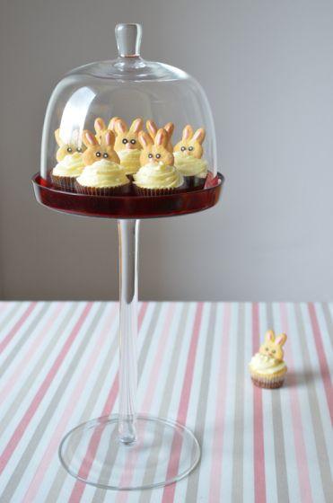 Śliczne uszate babeczki na Wielkanoc