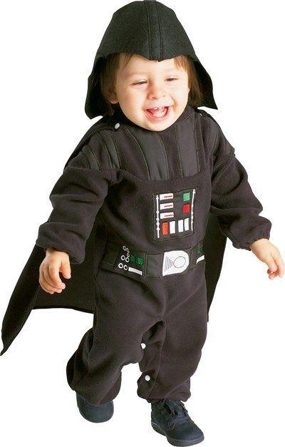 Strój Dartha Vadera dla najmłodszych fanów Gwiezdnych Wojen