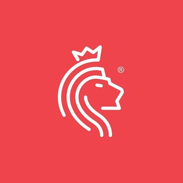 royal lion logo idea design made by voltastudios logoplace graphicdesign creativity
