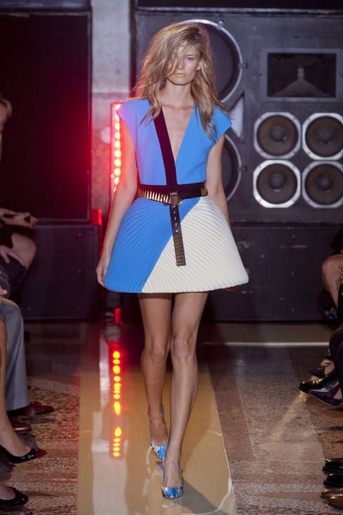 Fausto Puglisi Spring 2014 Ready-to-Wear Runway - Fausto Puglisi Ready-to-Wear Collection