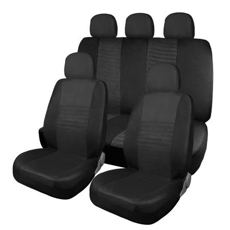 Auto Tires Clean Car Seats Black Seat Covers Swivel Rocker