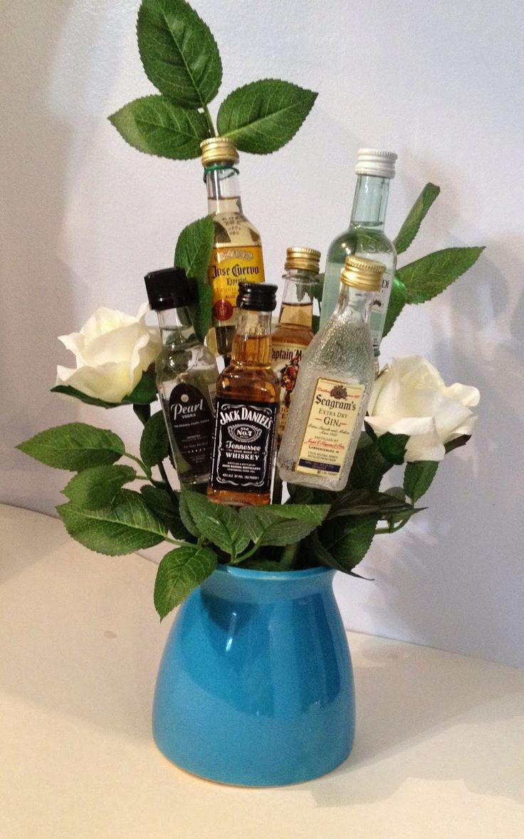 25 best ideas about liquor bouquet on pinterest