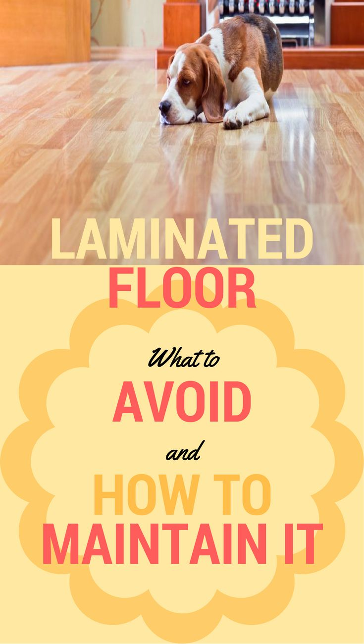 Laminated floor: what to avoid and how to maintain it