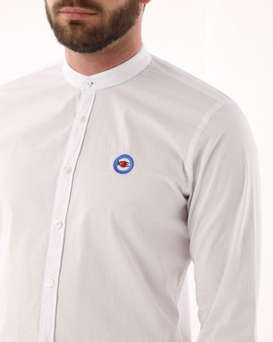 Shirt with embroidered mini logo Ice Play