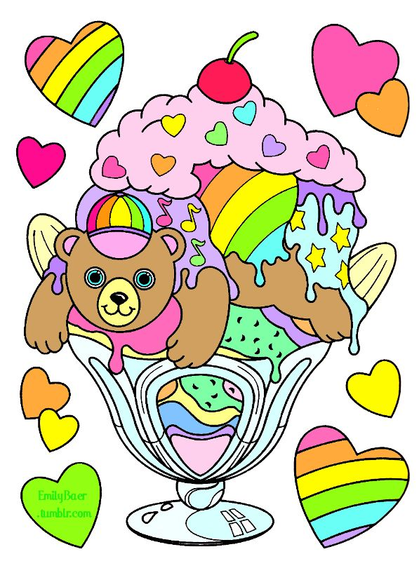 lisa frank fairy coloring pages - photo#32