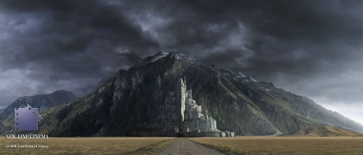 Matte Painting UK::gallery - LOTR - The Return of the king