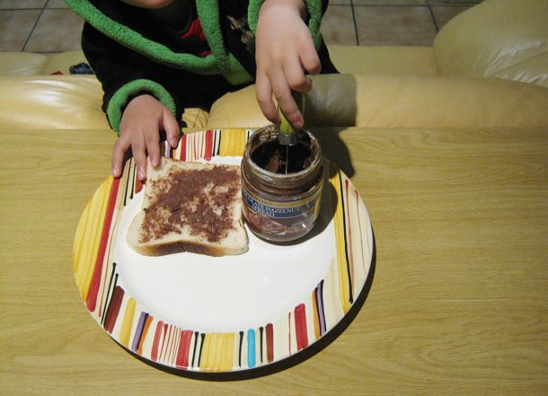 DIY chocolate sandwiches