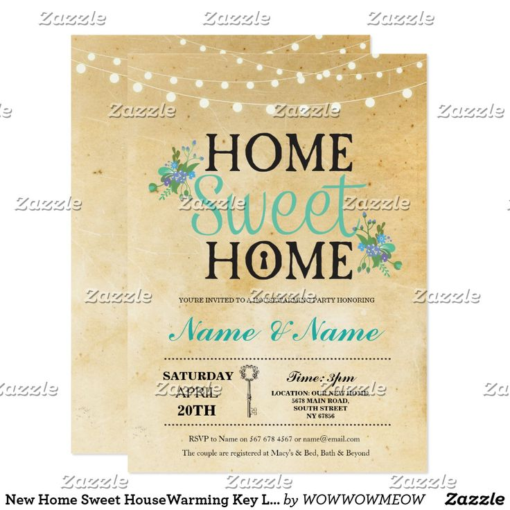 61 best Housewarming Invitations images on Pinterest - housewarming invitations templates