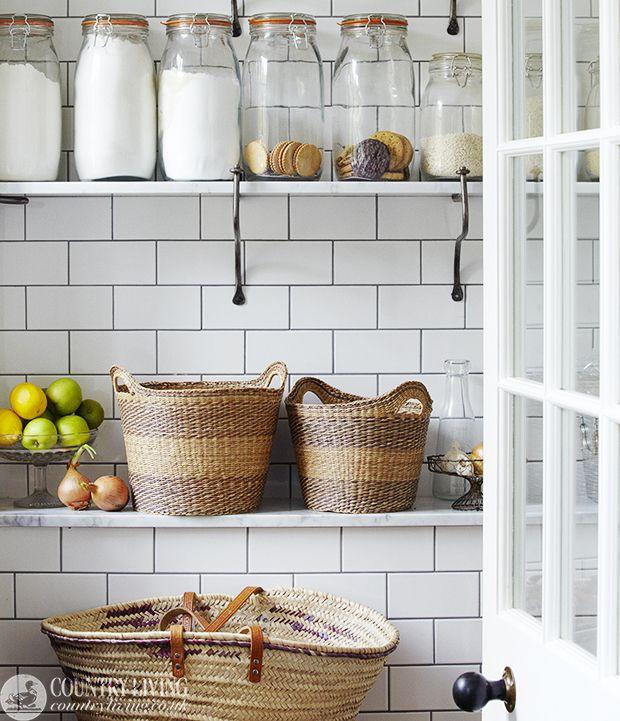 Kitchen Larder Storage Idea From Country Living Magazine Uk Photo B Darby Http