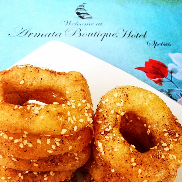 #Loukoumades for a sweat breakfast time...Armata Boutique Hotel in Spetses!!!!