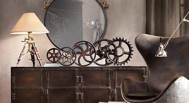 Steampunk styl je extravagantní, luxusní, propracovaný | Elegantní bydlení