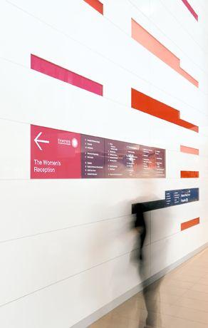Signage and Wayfinding: Health