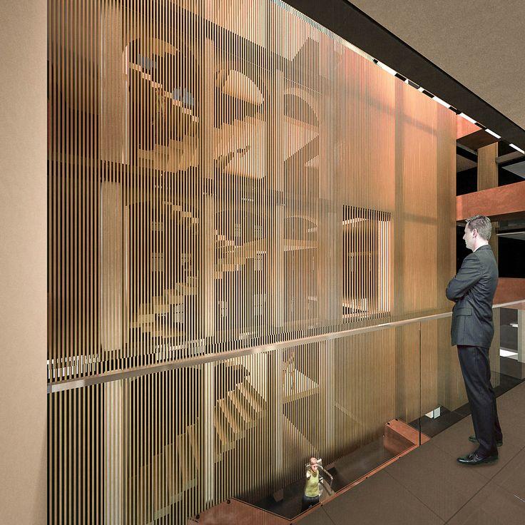 Segundo Lugar Habilitación Biblioteca Congreso Nacional / PLAN Arquitectos