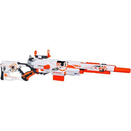 NERF N-STRIKE Whiteout Series Longstrike CS-6 Blaster | Nerf