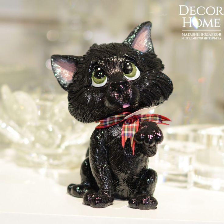 Суеверия Интерпретация образа чёрных котов и кошек в разных культурах и народах различается. В Великобритании чёрная кошка считается символом удачи. Шотландцы верят, что чёрный кот, зашедший в дом, подарит богатство и процветание, а у хозяйки чёрного кота будет много поклонников.☺️ Цена: 1350 руб. #Fridayishere #fridayfunday #пятницалета, #пятницавечер #пятницааа #декорированиеинтерьера #красивыйдом #уютныйдом #подаркисувениры #подаркиDecorhome #подаркислюбовью