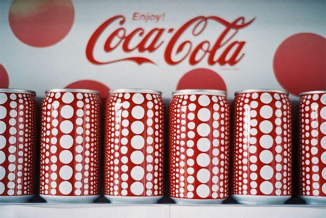 Coca-Cola Yayoi Kusama