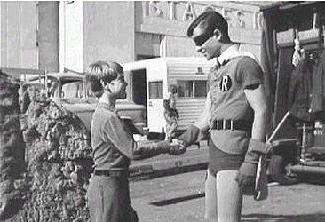 """Bill Mum from """"Lost In Space"""", meets Burt Ward from """"Batman"""". And there's the 60's!!!"""