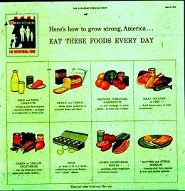 Early USDA Advertisement