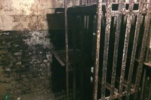 Hidden Cells of Newgate Prison in London United Kingdom