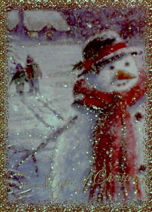 Resultado de imagen para gif de nieve pinterest