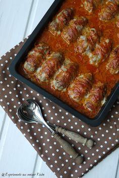Experimente aus meiner Küche: Italienische Mini-Hackbraten