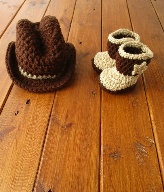20dd5a85 Cowboy Hat and Boots Set, Newborn Cowboy Outfit Cowboy Hat Crochet Baby  Cowboy Hat and Boots Baby Cowboy Outfit Photo Prop Cowboy Photo Prop |  Cowboy Prop ...