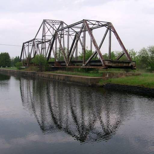 Railway bridge near Trent University, Peterborough Ontario