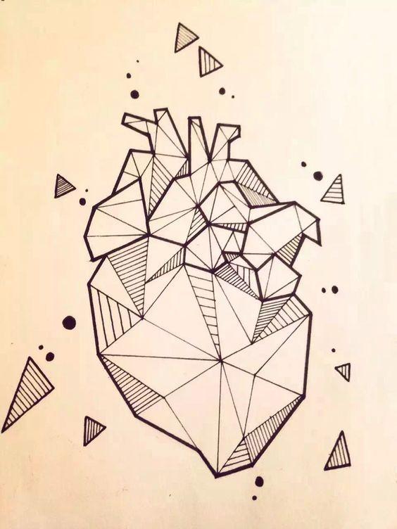 tattoo geometric drawings drawing dessin sketches simple pencil line geometrische easy portrait sketch tattoos tekeningen tekening kunst tatoeage marqueterie pen