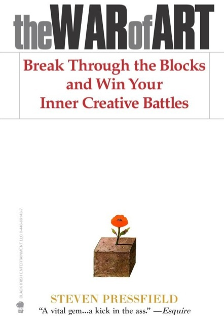 #TheWarOfArt #Books: Books, Reading, Creative Battle, Steven Pressfield, Art, Inner Creative, Stevenpressfield, The Blocks, War