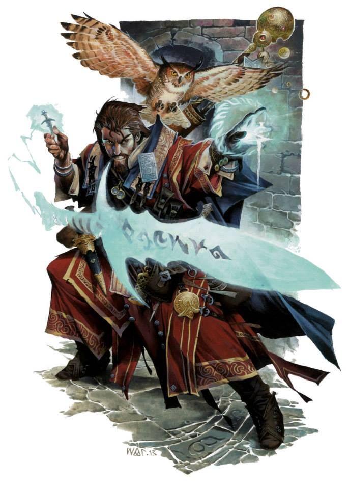 Mordenkainen's Sword by Wayne Reynolds for D&D Next!!