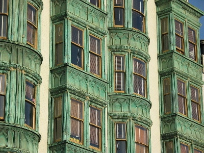 an old, copper-clad building: Old Buildings, Copper Cladding Building, Abandoned Buildings, Colors Ideas