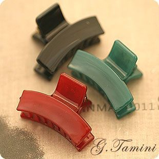 Jelly Color Simple Small Size Hair Claw