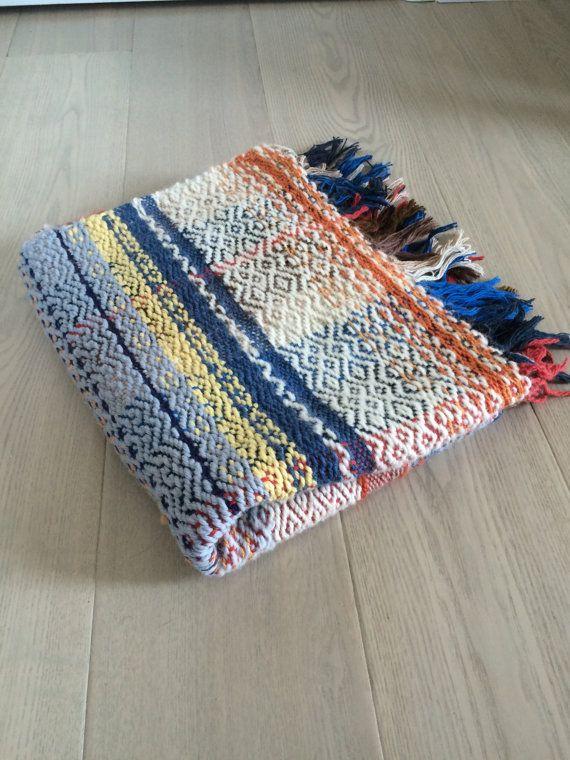 Handwoven Wool Blanket No. 3.1 SOLD