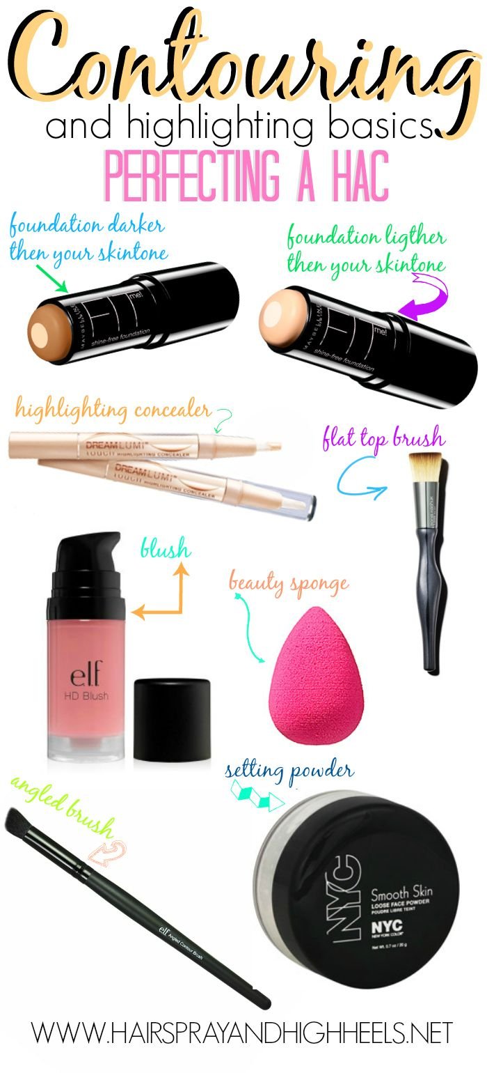 How To Contour - Hairspray and High heels. I have the FIT foundation stick, and it is amazing! Highly recommend.