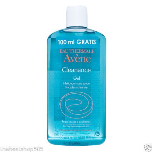 AVENE-CLEANANCE-CLEANSING-GEL-SOAP-FREE-300-ML-FREE-SHIPPING-ALL-WORLD