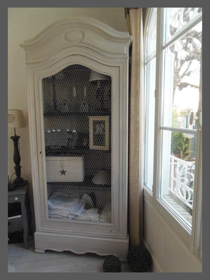50 best armoire biblioth que vitrine images on pinterest closets armoires and glass display. Black Bedroom Furniture Sets. Home Design Ideas