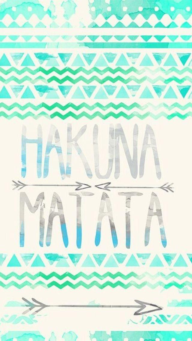 Hakuna Matata iphone wallpaper