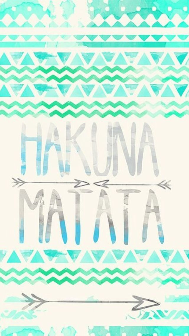 Hakuna Matata iphone wallpaper