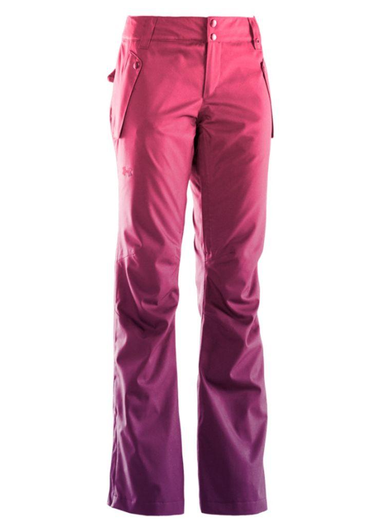 Under Armour Women's Coldgear Infrared Fader Pant (Lollipop/Velvet/Velvet) Ski Pants Women's Pants