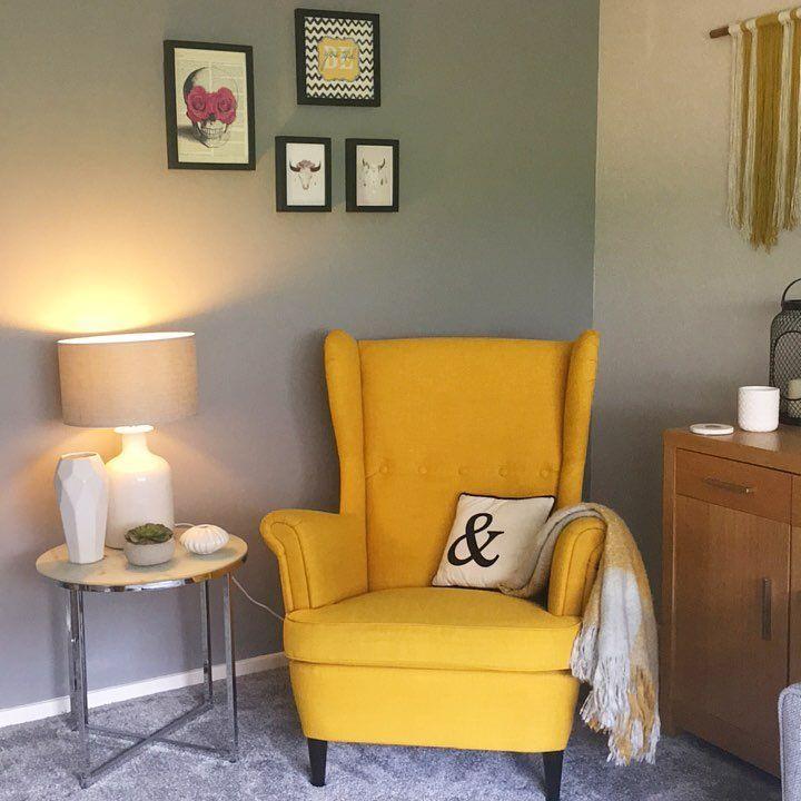 Yellow Ikea Armchair Bedroom Ikea Armchair Yellow