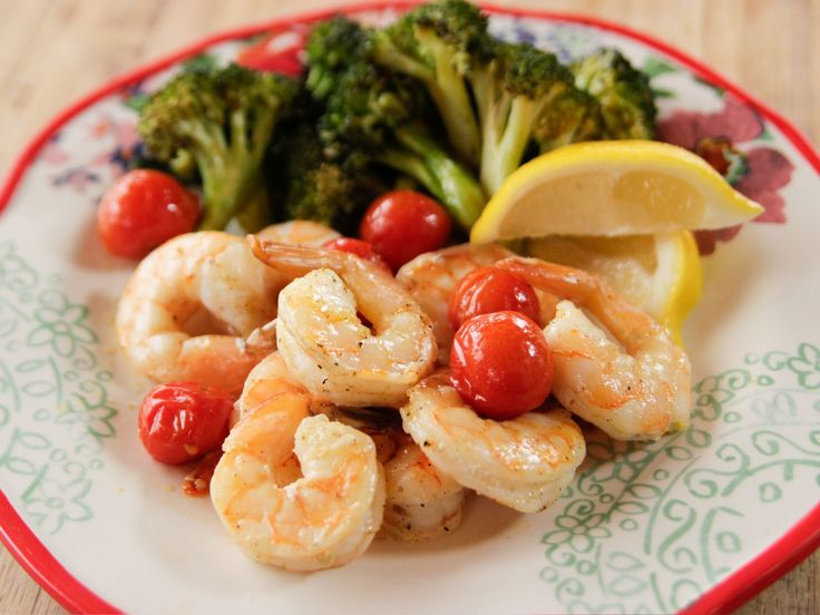 Roasted Shrimp with Cherry Tomatoes recipe from Ree Drummond via Food Network