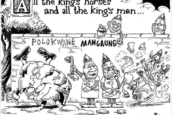 Zapiro: All the king's men - Mail  Guardian