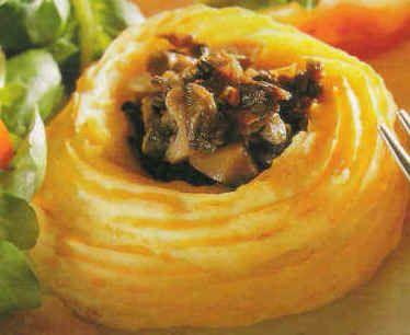 Purée de pommes de terre en nids surprises ! Les plats à base de pommes de terre