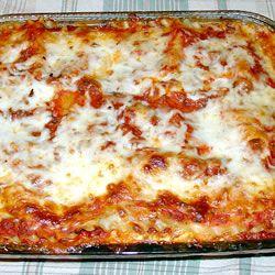 World's Best Lasagna from Allrecipes. Yummy good for a cold winter night  http://allrecipes.com/Recipe/Worlds-Best-Lasagna/Detail.aspx